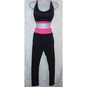 Pants - NWT Athletic Leggings and  Sports Bra